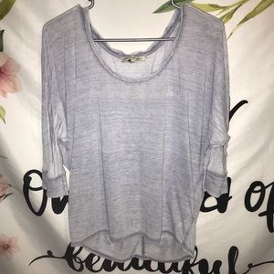 Express size xs basic long sleeve T-shirt